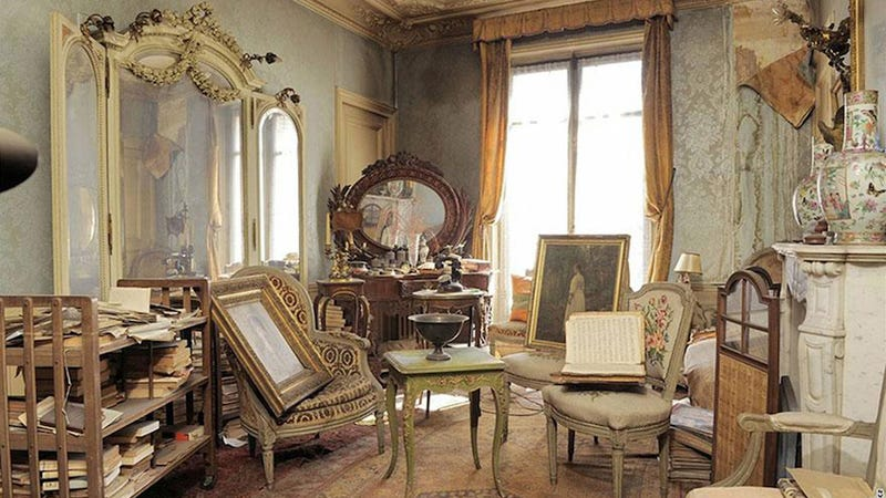 This lavish Paris apartment was discovered untouched for 70 years