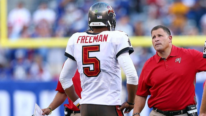 Illustration for article titled Report: Josh Freeman Wants The Hell Out Of Tampa