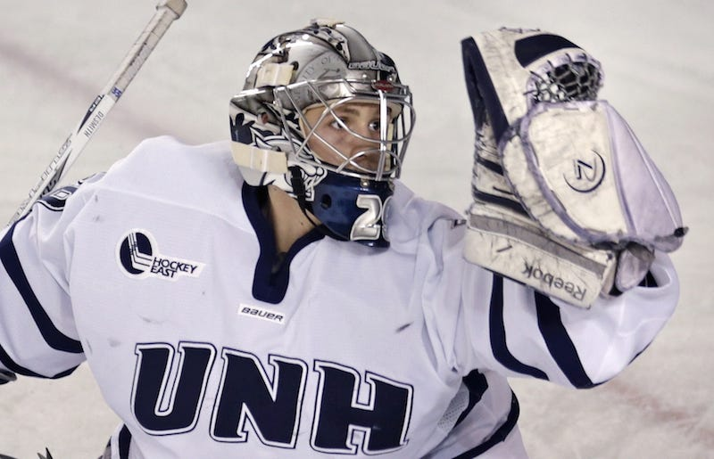 Illustration for article titled Police: UNH Hockey Goalie Spat On Woman, Repeatedly Punched Her