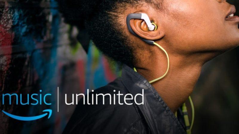 (Screenshot: Amazon Unlimited Music app)