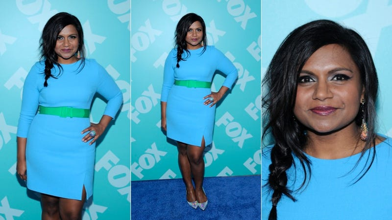 Illustration for article titled Mindy Kaling Totally Blue It
