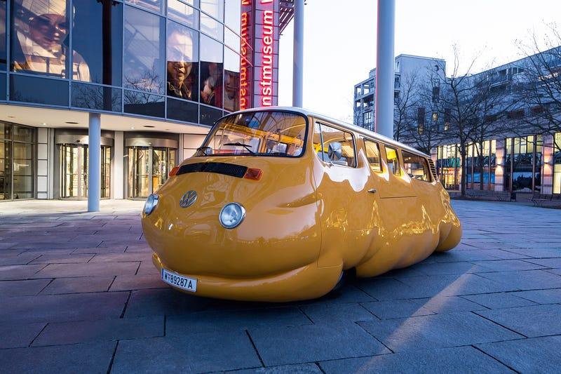 Illustration for article titled Currywurst bus