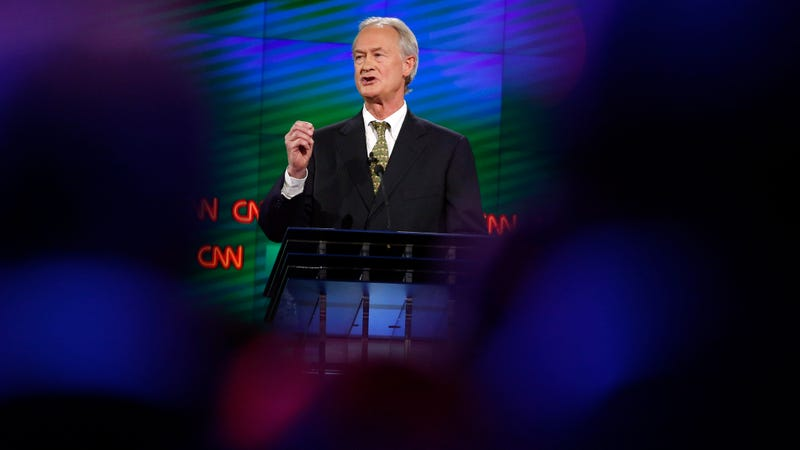 Illustration for article titled Lincoln Chafee Is Considering Running for Senate and I Am Considering Dying in an Explosion of Delight