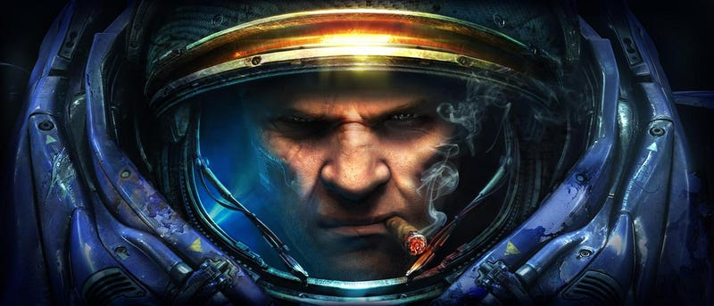 Illustration for article titled Blizzard Took Out Tychus' Cigar In Heroes Of The Storm