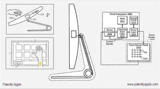 Illustration for article titled iMac Touch Interface Shown Off In Apple Patent