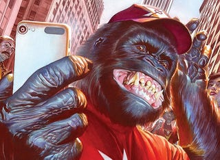 Illustration for article titled A Sampling of Speaking Simians: DC Superheroes Edition