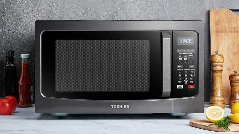 Toshiba EC042A5C-BS Microwave | $120 | Amazon | Promo code 40SUPERDEAL