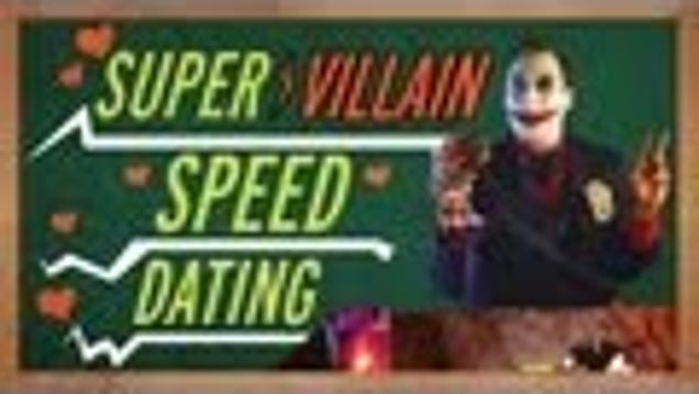 world of heroes speed dating Even supervillains need a little love from time to time which one would you date watch superhero speed dating:.