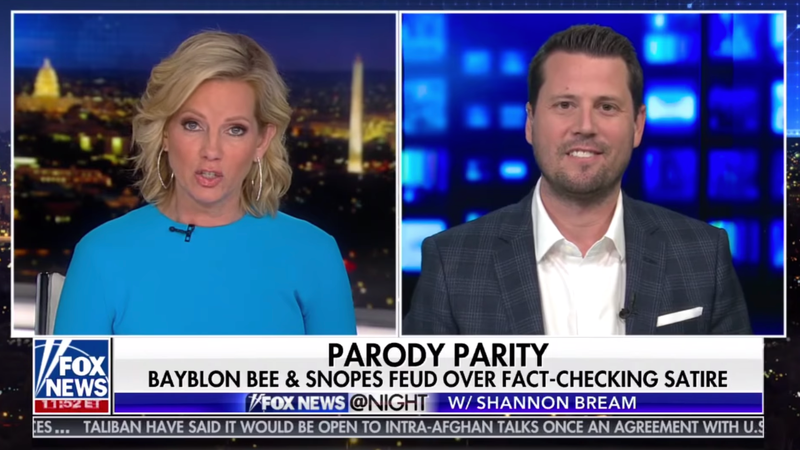 The Babylon Bee's Seth Dillon on Fox News