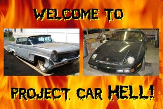 Illustration for article titled Project Car Hell: Porsche 928 or '58 Lincoln Continental?
