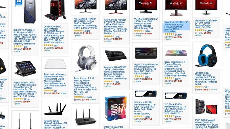 PC Gaming Gold Box | Amazon