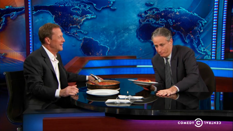 Illustration for article titled Jon Stewart and Chicago Agree: California Pizza Is the Worst of All