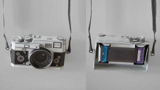 Illustration for article titled A Working Papercraft Leica, Which Inevitably Costs Thousands Less Than the Real Thing
