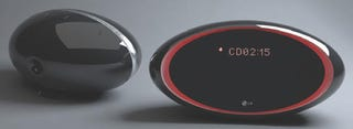 Illustration for article titled LG Tabletop HD Radio/iPod/CD System Is a Flash Gordon Space Football