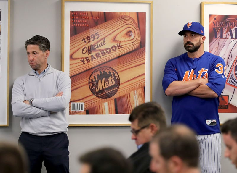 Mets manager, seen at left and also at right.