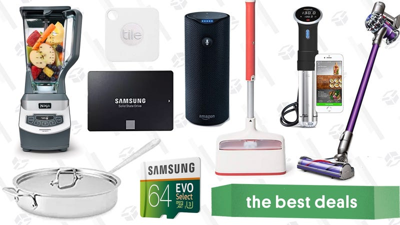 Illustration for article titled Friday's Best Deals: Anova Sous Vide Cooker, 1TB SSD, Dyson V6 Animal, and More