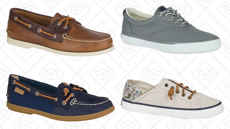 Two pairs of select Sperry's, $99 with code TWOFORYOU