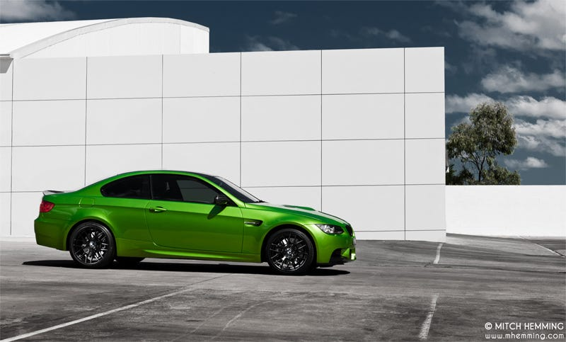 Illustration for article titled Post Green BMW's
