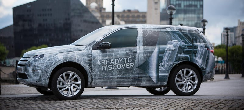 Illustration for article titled The New Land Rover Discovery Sport Comes With 5+2 Seating