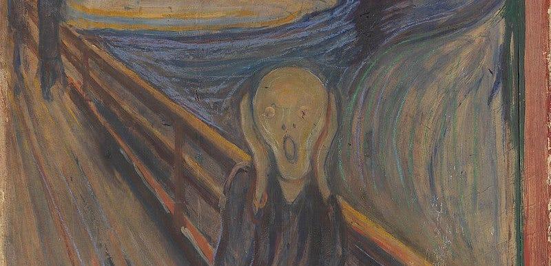 El Grito de Edvard Munch no muestra a una persona gritando, según el Museo Británico