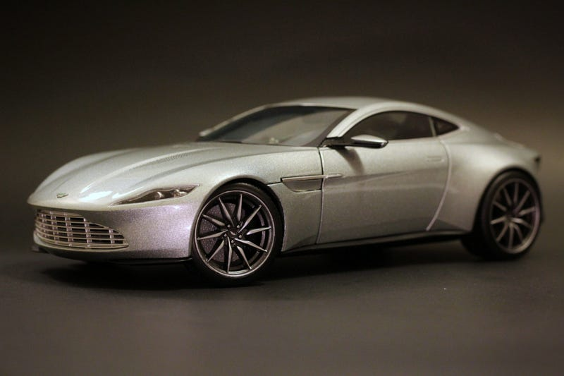 Hot Wheels Elite Aston Martin DB In Scale - Aston martin db 10