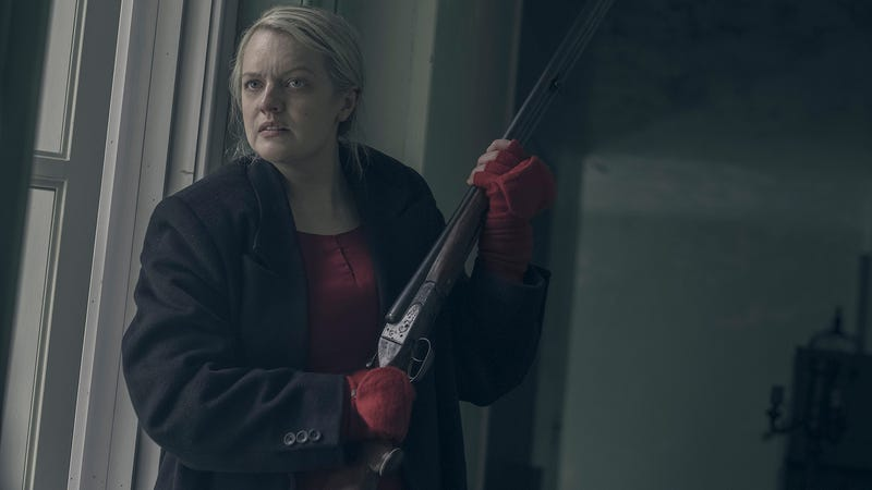 June (Elisabeth Moss) goes into battle mode in The Handmaid's Tale season two.