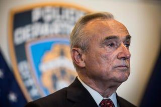 New York City Police Commissioner Bill Bratton in 2014Andrew Burton/Getty Images