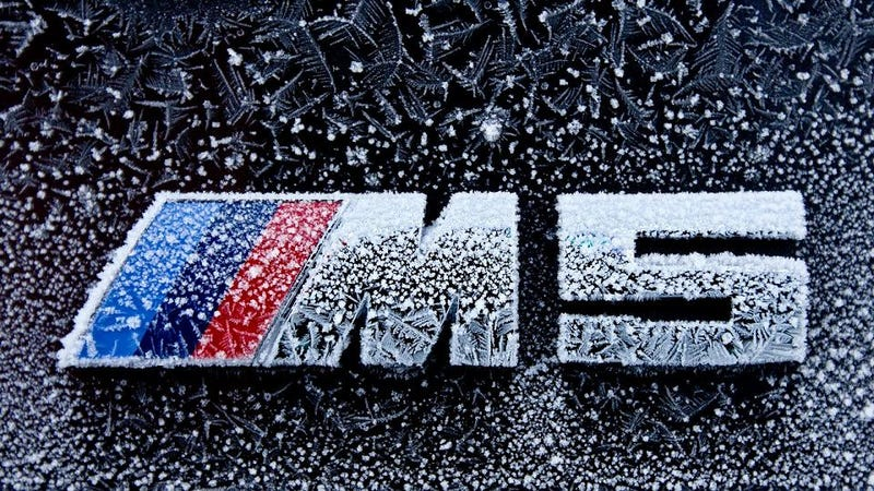 Illustration for article titled This Is The Coolest BMW M5 Badge We've Ever Seen