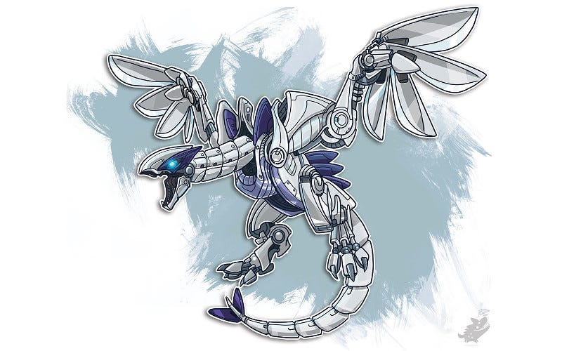 Illustration for article titled Pokémon Make For Badass Mecha