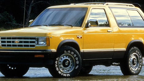 The Chevrolet Blazer Is Back As A Crossover