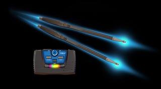 Illustration for article titled Silverlit V-Beat Air Drums—Motion-Sensor Sticks for Schmucks