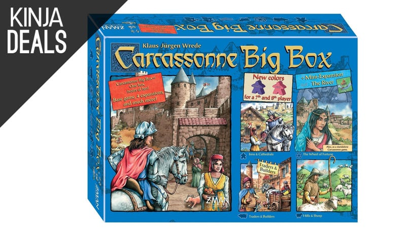 Illustration for article titled Save on Carcassonne Plus Four Expansions Today on Amazon