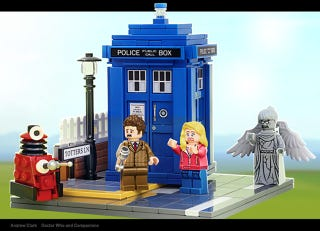 Illustration for article titled We are getting a wibbly-wobbly timey-wimey Lego set