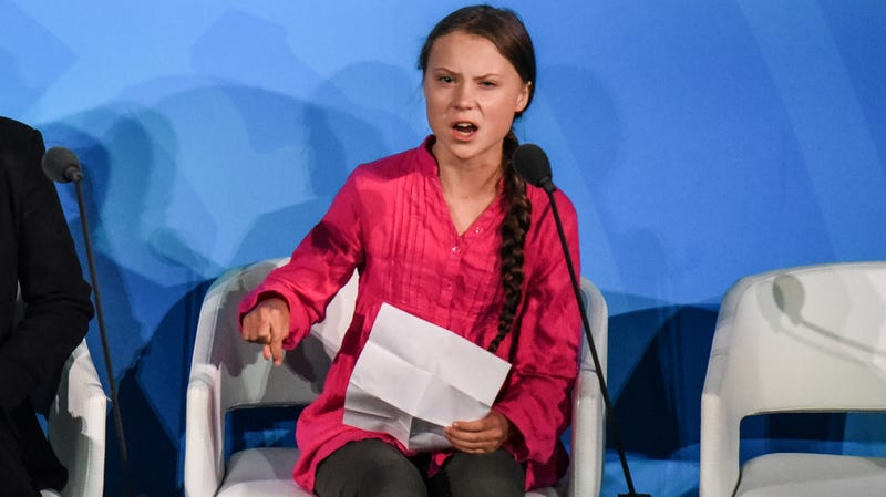 Illustration for article titled Greta Thunberg Isn't Your Mascot