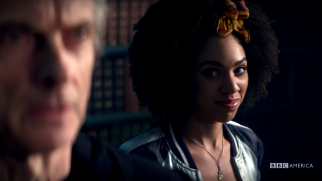 doctor who teaser shows new companion is cool with dying for the doctor and she might