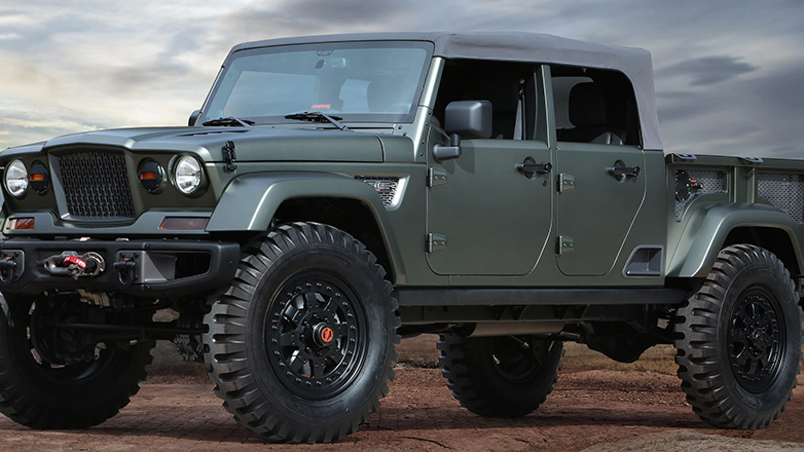 The Jeep Crew Chief Is What Happens When A Wrangler And An