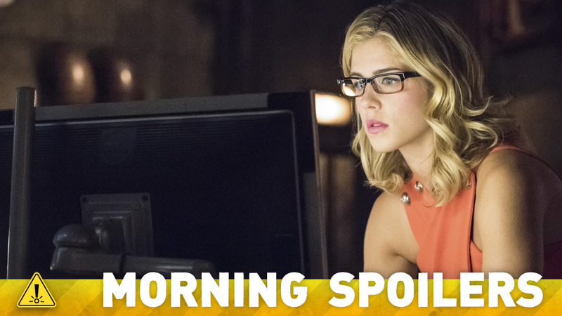 Illustration for article titled Do Arrow Set Pictures Reveal The Ultimate Fate Of Felicity Smoak?