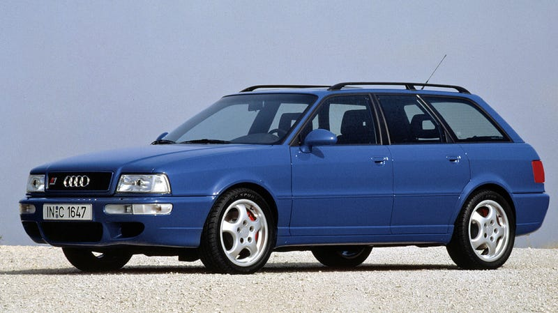 Illustration for article titled A Friendly Reminder That You'll Be Able to Legally Import an Audi RS2 Avant Next Year