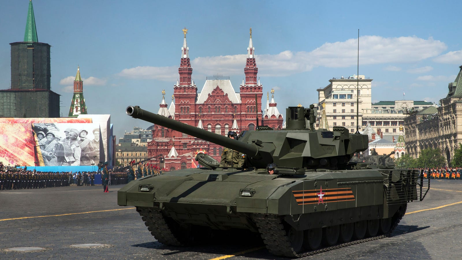 russia s new t 14 armata tank can shell a target from. Black Bedroom Furniture Sets. Home Design Ideas