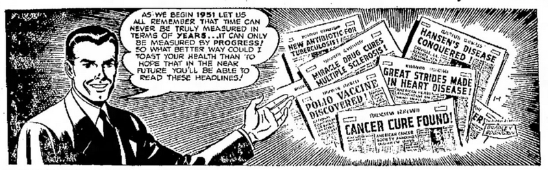 The Medical Miracle Headlines of the Future (from 1951)