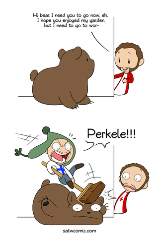 Illustration for article titled Bears: Canada vs Finland