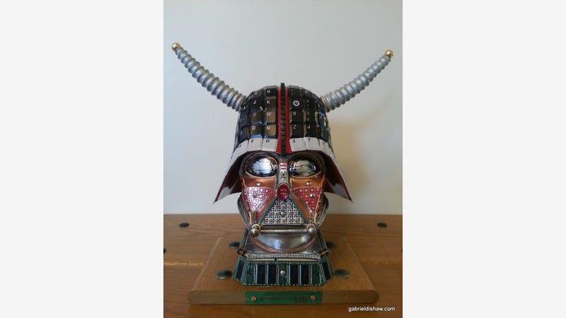 Illustration for article titled Junk Vader Finds Your Lack of Horns Disturbing