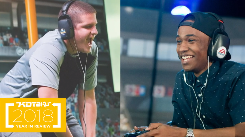 "Taylor ""SpotmePlzzz"" Robertson (left) and Elijah ""Trueboy"" Clayton (right) were pro Madden players who both lost their lives in the Jacksonville shooting earlier this year."