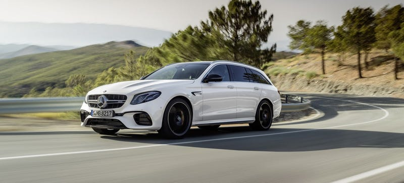 The 603 horsepower 2018 mercedes amg e63 s wagon is coming for Mercedes benz e63 amg wagon