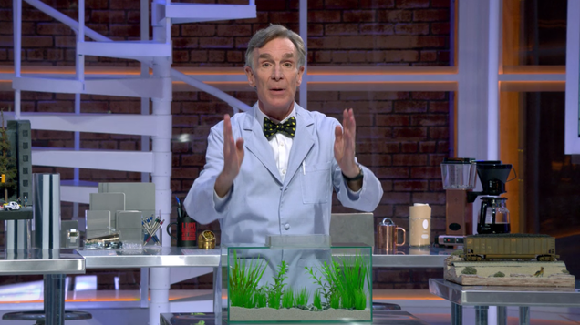 Bill Nye Spends Most of His New Netflix Show Yelling at the Audience