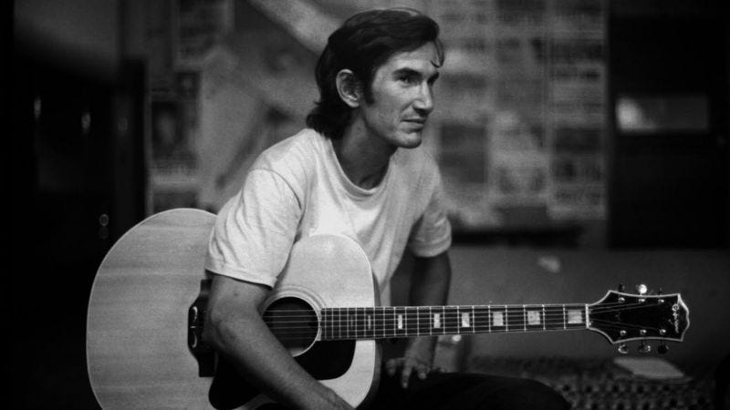 Illustration for article titled Townes Van Zandt finally came to life on Live At The Old Quarter