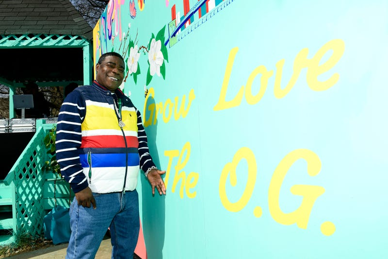 Tracy Morgan at the Garden Party for Good at the Hattie Carthan Community Garden in Brooklyn, N.Y., March 28, 2019.