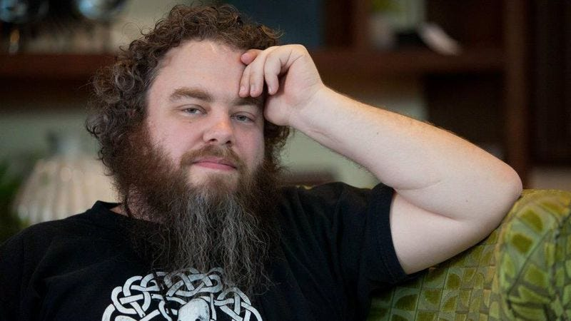 The Kingkiller Chronicle author Patrick Rothfuss