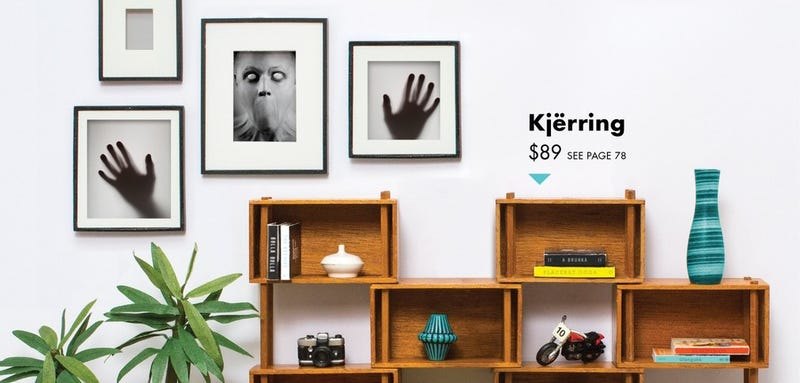 Illustration for article titled There's a Horror Novel Lurking in These Ikea-Style Photos