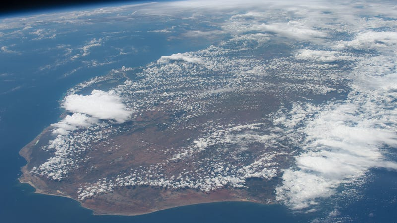Madagascar as seen from space.